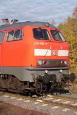 BR 218/37729/die-front-von-der-218-369-7 Die Front von der 218 369-7. (30.10.2009)