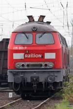 BR 225/41590/die-225-001-7-im-koblenz-luetzel Die 225 001-7 im Koblenz Lützel Gbf , am 21,11,09