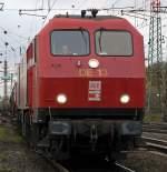br-240-de-11-13/39407/de13-bei-der-einfahrt-in-den DE13 bei der Einfahrt in den Gbf. Gremberg, immer wieder gern gesehn, aufgenommen am 12.11.09