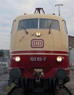 BR 103/41609/103-113-7-im-db-museum-koblenz 103 113-7 im DB Museum Koblenz !