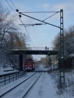 BR 111/52300/die-br-111-157-4-auf-der Die BR 111 157-4 auf der RE9 Route (Aachen Hbf-Gießen) am 31.01.2010 in Eilendorf.