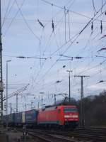 BR 152/61575/die-br-152-145-9-fuhr-am Die BR 152 145-9 fuhr am 30.03.2010 durch Gnf Gremberg.