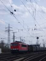 BR 155/61578/die-br-155-024-3-fuhr-am Die BR 155 024-3 fuhr am 30.03.2010 durch Gnf Gremberg.