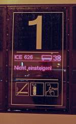 Experimentelle Bahnfotografie/41780/kleine-spielerei-in-koeln-hbf-am Kleine Spielerei in Köln Hbf. am 23.11.09