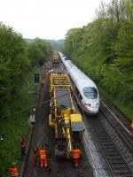 BR 403 ICE 3/69315/ein-ice3-kahm-am-14052010-durch Ein ICE3 kahm am 14.05.2010 durch Eilendorf geschlichen.