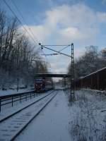 personenzuge-rb-re/52298/eine-br-643-euregiobahn-faehrt-am Eine BR 643² (Euregiobahn) fährt am 31.01.2010 durch Eilendorf.