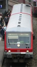 br-628-----928/36636/die-928-512-hier-nach-der-einfahrt Die 928-512 hier nach der Einfahrt in Solingen Schaberg am 25.10.09