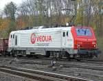 Veolia/38404/veoliaacutes-e37-510-aufgenommen-am-06112009 VEOLIA´s E37 510, aufgenommen am 06.11.2009 in Gremberg